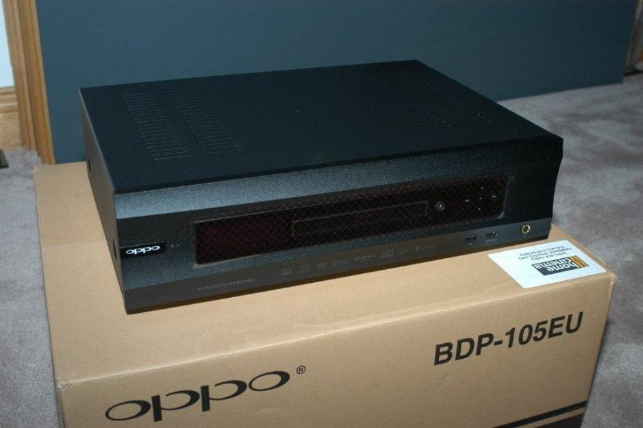 Reproductor Oppo BDP 105 Nuevo, con factura y garantía.