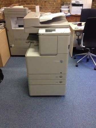 (muy reciente) fotocopiadora profesional canon c2020i láser color a3