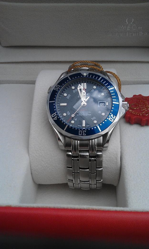 Omega Seamaster Professional GMT 300M azul