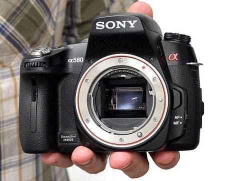 Sony alpha 580 sin estrenar.