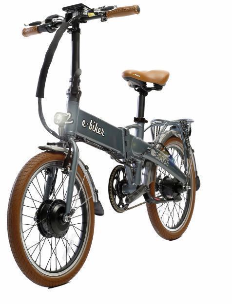 Bicicleta eléctrica plegable Ebiker Boose