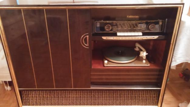 radio tocadiscos antiguo grundig precioso