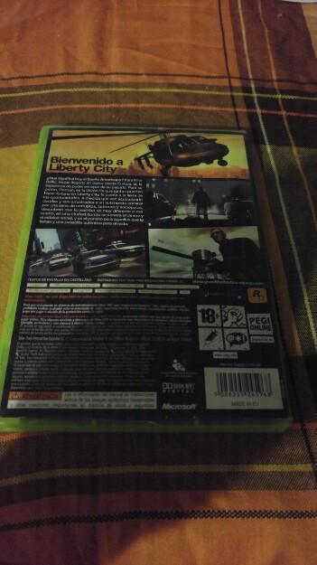 GRAND THEFT AUTO IV XBOX 360